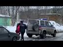 В Мурманске неизвестные водрузили гроб на машину местного отловщика бродячих собак, Кром