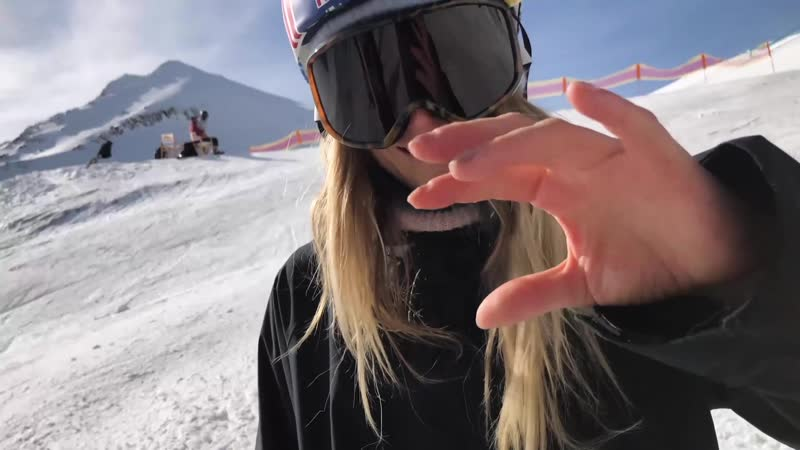 Watch the moment Anna Gasser made female snowboarding history