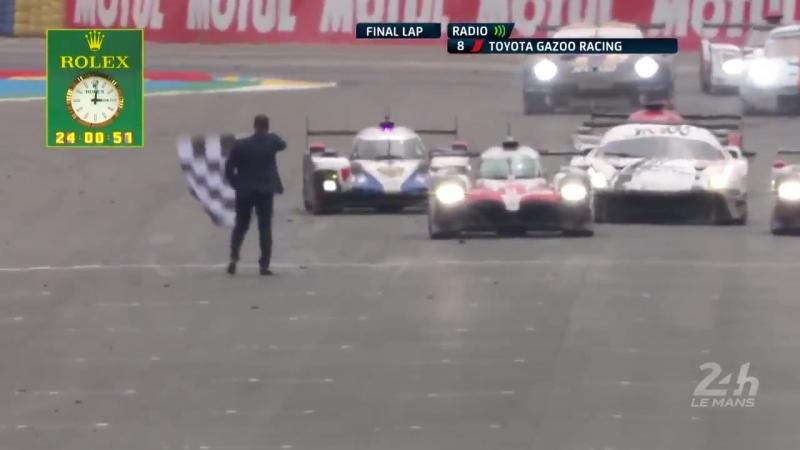 Toyota и Алонсо побеждают в «Ле-Мане»
