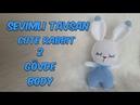Amigurumi Örgü Oyuncak Tavşan 2 Gövde Amigurumi Crochet Rabbit 2 Body