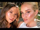 Makeup tutorial Nam Vo gives Rosie Huntington Whiteley the dewy dumpling highlighter look
