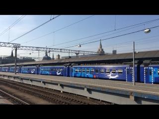 Вокзал Ярославский перон