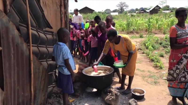 Ещё один день нашего лагеря в Африке