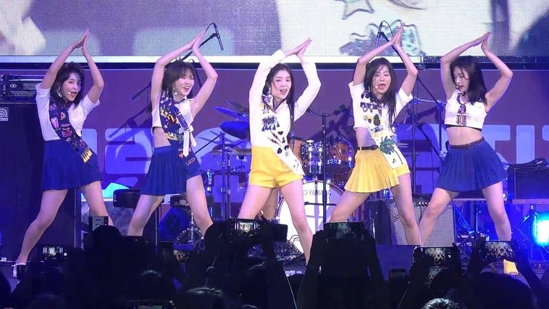 180916 레드벨벳 Red Velvet 파워업 Power Up 4K 직캠 @ 어제그린오늘 뮤직 페스티벌 by Spinel (AX700 촬영)