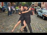 ARGENTINA Wondeful TANGO DANCING in the streets of BUENOS AIRES
