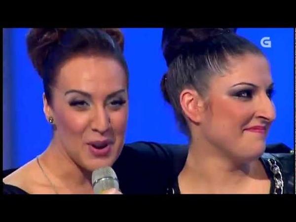Mónica Naranjo Y Tania Fuegho Sobreviviré Directo en Luar 25 01 2013