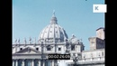 Vatican City 1956, Rome in 16mm
