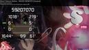 Osu Informous Black Raison d'etre INSIDE IDENTITY Insane HD DT 99 61% FC 552pp 1