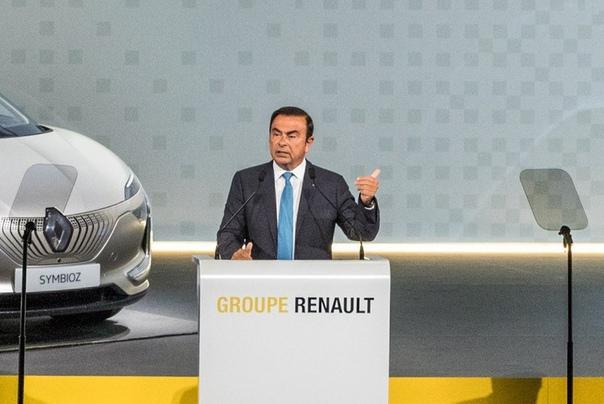Карлос Гон ушел из руководства Renault Фото:компания RenaultМинистр финансов Франции Бруно Ле Мэр на Международном экономическом форуме в Давосе объявил, что поздним вечером 23 января Карлос