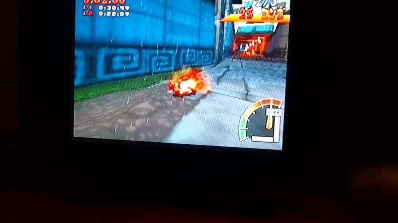 Crash team racing Tiger Temple 1'27 76 NTSC J