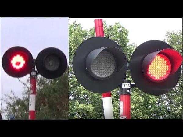 Przejścia Kolejowe Władysławowo Polish pedestrian crossing