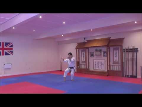 Kata Unsu backwards