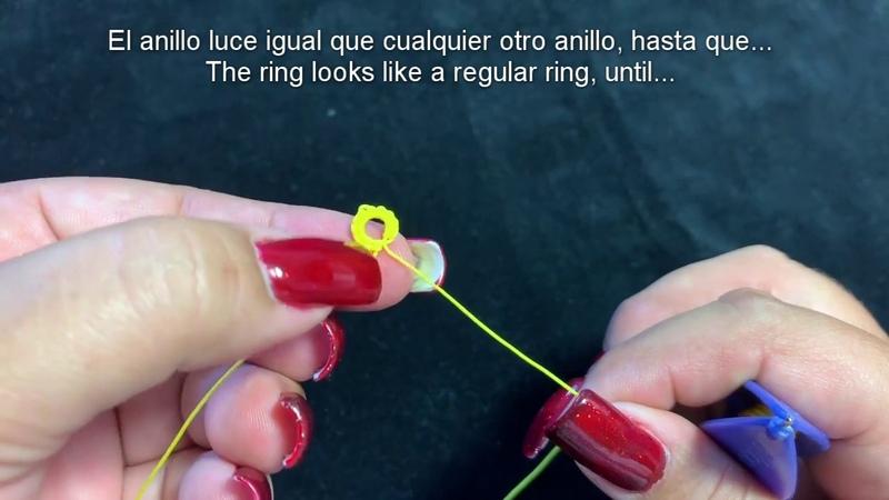 Frivolite Tatting Lesson 186 - Anillos espiral Spiral Rings