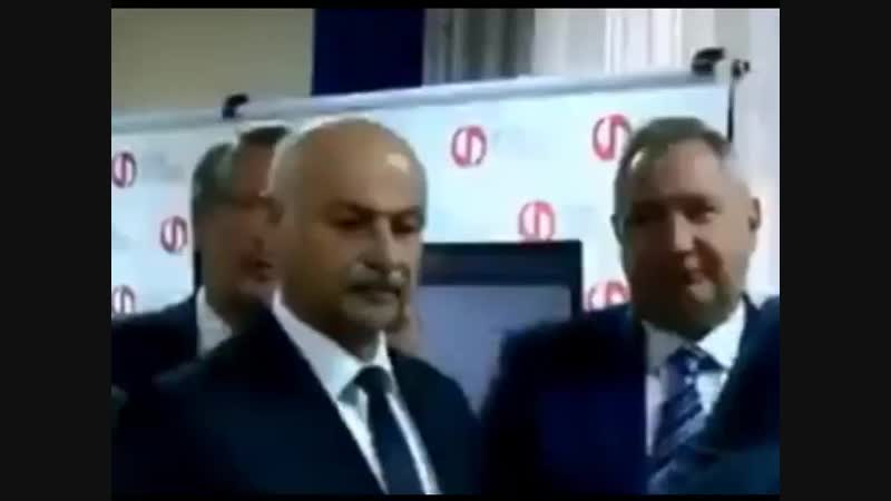 Стала известна причина отказа американской стороной в визите Рогозина в НАСА, это хер знает что у него там в голове ....mp4