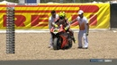 WSBK 2019 round 6 Jerez the WorldSBK title race EXPLODED into life after this moment 🔥Bautista was OUT at RACE2