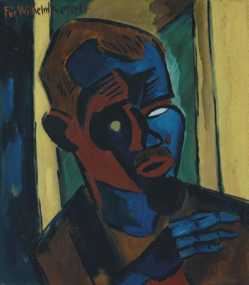 Karl Schmidt-Rottluff (1 декабря 1884-1976), Карл Шмидт-Ротлуф — немецкий художник-экспрессионист, один из теоретиков модернизма в живописи. Карл Шмидт-Ротлуф был другом основателя творческого