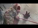 Davis e George vs Crocodilo (1/2) Batalha Final | Rampage: Destruição Total (2018)