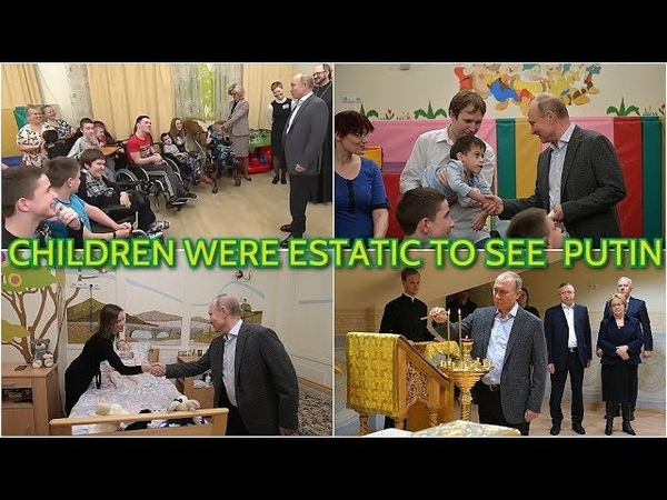 TOUCHING: Putin Visits Children's Hospital in St. Petersburg And Gets Asked By A Child: Putin?