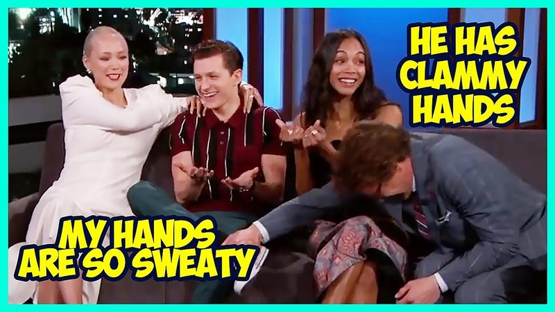 Avengers Infinity War Cast Funny Moments 2018 - Family Feud