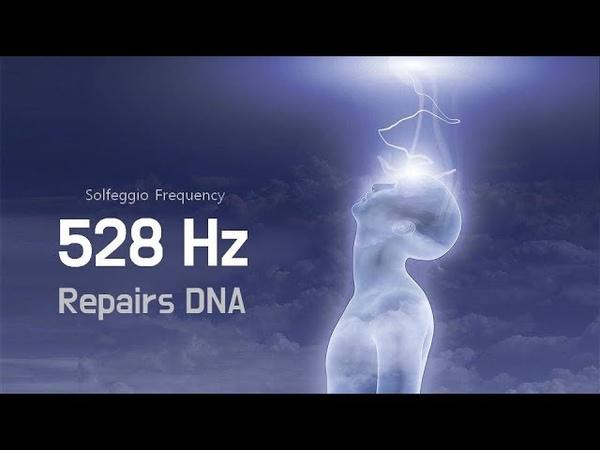 528Hz | Repairs DNA Brings Positive Transformation | Solfeggio Sleep Music