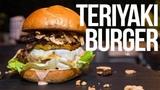 The Best Teriyaki Burger SAM THE COOKING GUY 4K