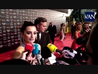 [GOYA 2019] Penélope Cruz en la ALFOMBRA ROJA