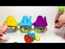 епим из Пластилина Плей До. Учим Цвета. Развивающее видео для детей.
