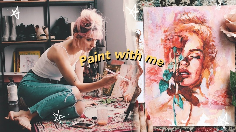 🌹Paint with me🌹 [english] | Jim Reno