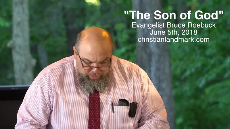 The Son of God (Bruce Roebuck)