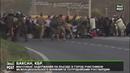 Баксан, КБР. Массовые задержания участников межнационального конфликта сотрудникам Росгвардии