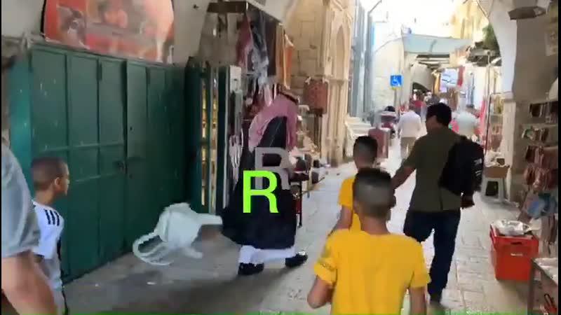 Саудит в оккупированном Иерусалиме