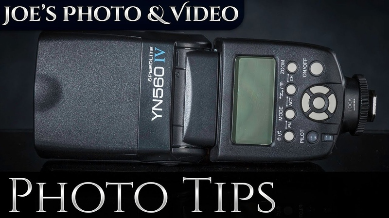 Yongnuo YN560 IV Speedlite Quick Start Guide Everything You Need To Know To Get Started