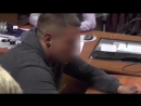 Видео допроса подозреваемого в убийстве девушек в Карелии