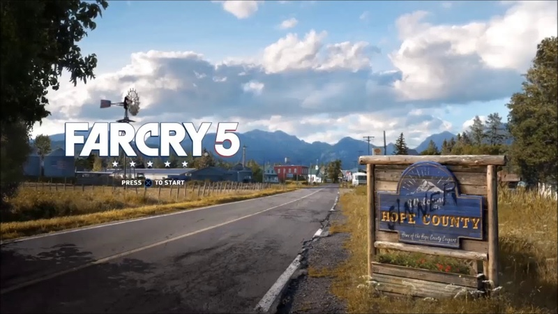(Louder Far Cry 5 Main Menu) Now That This Old World Is Ending