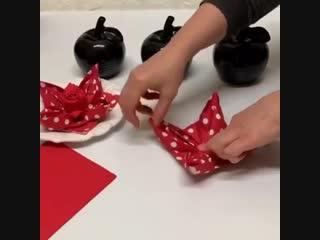 Самые лучшие идеи для сервировки стола! Салфетки