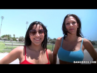 Rachel Starr, Abella Anderson трясут попками