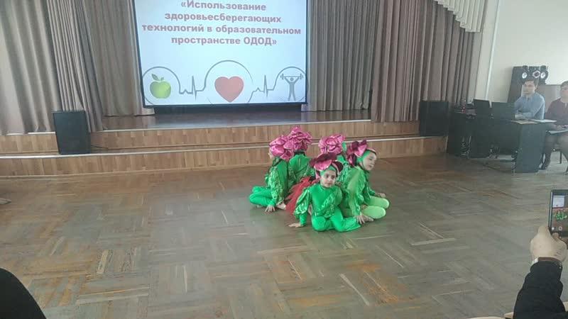 Выступление Олеси на семинаре.