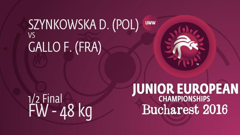1 2 FW 48 kg F GALLO FRA df D SZYNKOWSKA POL by FALL 4 8