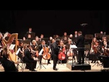 Сергей Крылов (скрипка) и РГСО. Концерт №4 Н.Паганини. Фрагмент.