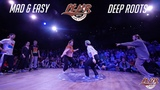Deep Roots vs. Mad &amp Easy 14 HOUSE 3x3 P.L.U.R. Battle The Cypher