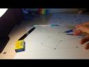 Практический пример построения Тени от Кубика и Ромбика