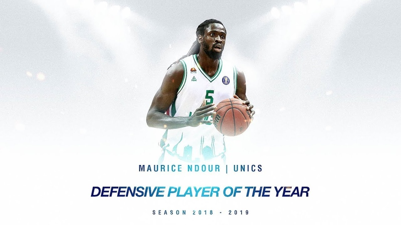 Defensive Player of the Year Maurice Ndour, UNICS | Season 201819