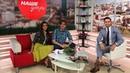 Ведущий Руслан Мазитов в гостях утреннего шоу на канале ОТВ в международный день холостяка