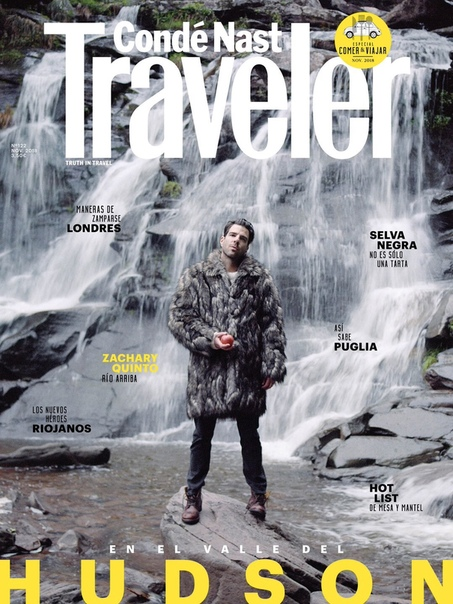 Zachary Quinto Traveler, 2018