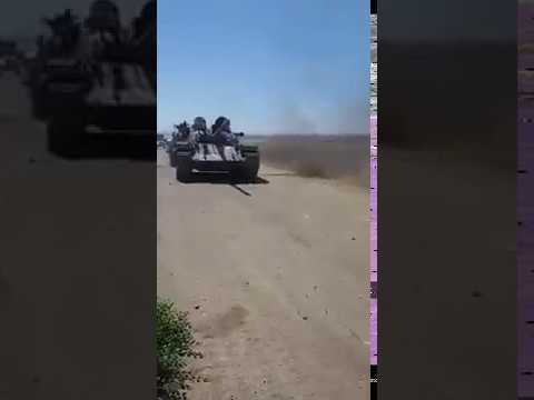 Боевики в Дараа отдали САА 2 танка и много оружия