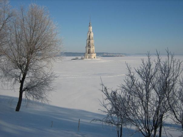 Калязин. Тайна затопленной колокольни Никольского собора.