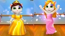 Говорящая Анджела Принцесса и Королева Анджела ЗИМНИЙ БАЛ