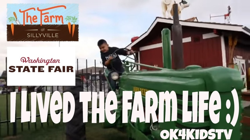 The Farm at Sillyville -Washington State Fair Puyallup OK4KIDSTV video 194