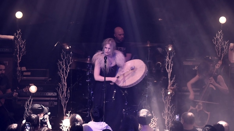 Myrkur - Fager Som En Ros (Swedish folksong) live in Glasgow