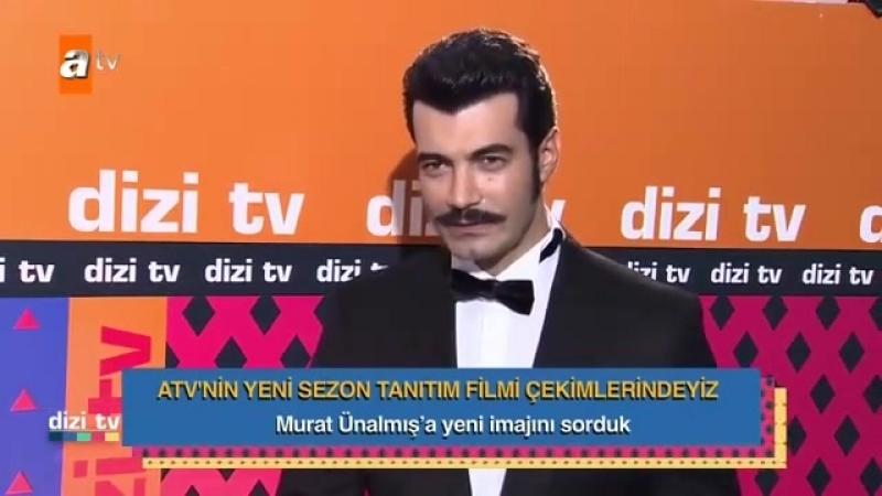 BirZamanlarÇukurova oyuncularından Murat Ünalmış yeni imajını anlatıyor! DiziTV